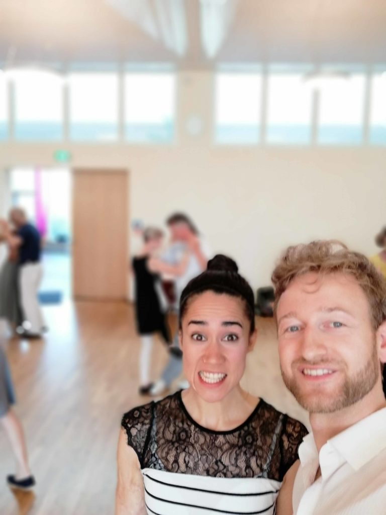 Sayaka and Joscha at the Tango Magie Festivalito in Freiburg 22nd to 24th of June 2018