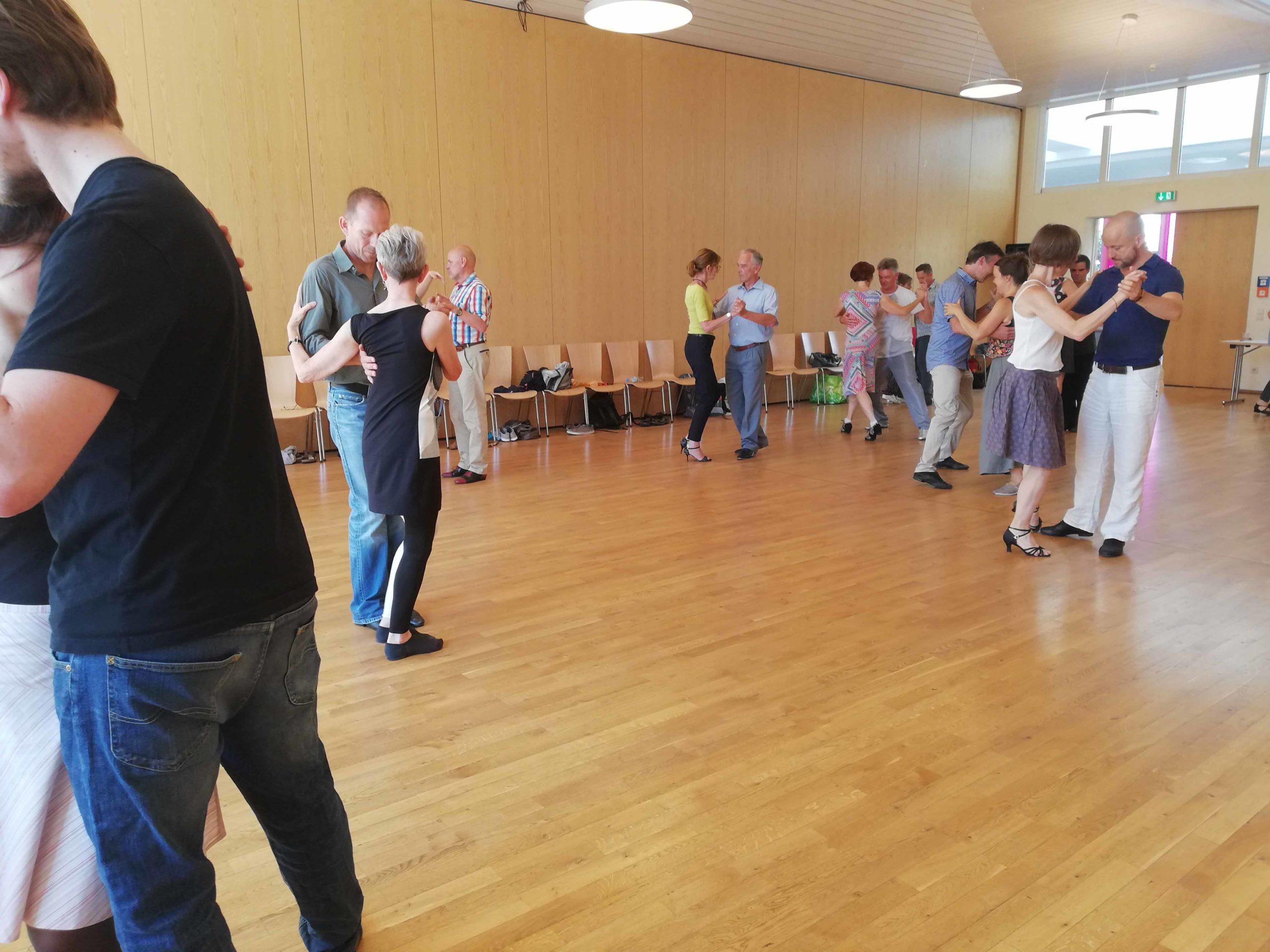 Tango Workshop Freiburg with Sayaka and Joscha