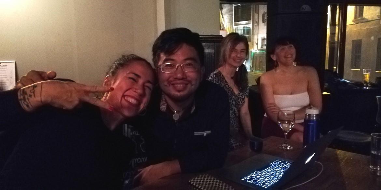"Sayaka Higuchi and Joscha Engel in Dublin for the Tango Weekend Seminar ""Power & Playfullness"""